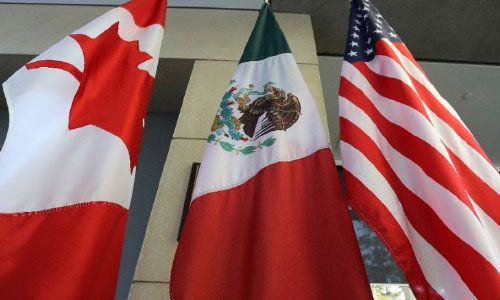 Trump Hails New  US-Canada-Mexico Trade Pact