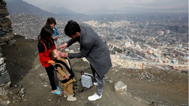 1.3 Million Afghan  Children at Risk from Polio