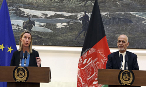 """The European Union and Afghanistan – Prospects  for Peace""."