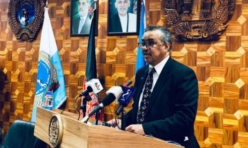 WHO  Director-General  Visits Afghanistan