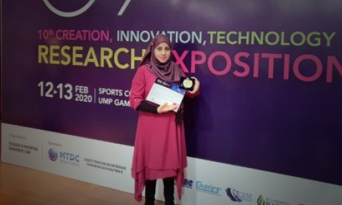 Afghan Female Researcher Wins Gold Medal in Malaysia