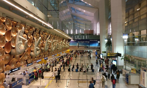 Afghan, Indian Nationals Arrested at Delhi  Airport for Carrying Large Amount of Cash
