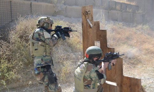 Special Forces Kill, Detain  15 Taliban Militants in Wardak  and Paktika Provinces