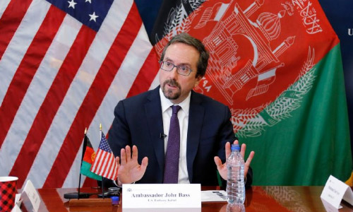 US Envoy in Afghanistan Supports  IEC's Decision to Count Only  Biometrically Verified Votes