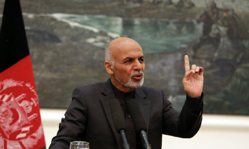 Ghani Hopes Afghanistan Will One Day Have Female President
