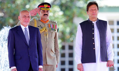 What was the goal of Afghan President  Trip to Pakistan?