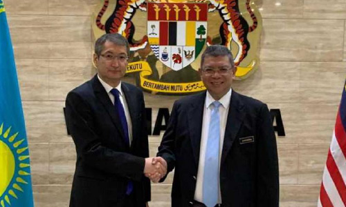Kazakhstan, Malaysia Mutually Interested in  Bilateral Cooperation Deepening