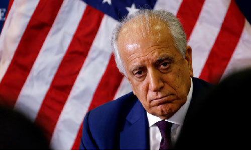 Khalilzad Pushes  for Ceasefire as Peace  Efforts Continue