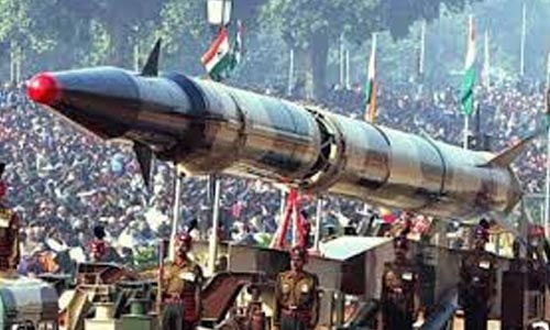 Relation between NPT and arms race in South Asia