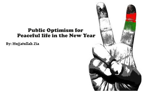 Public Optimism for  Peaceful life in the New Year