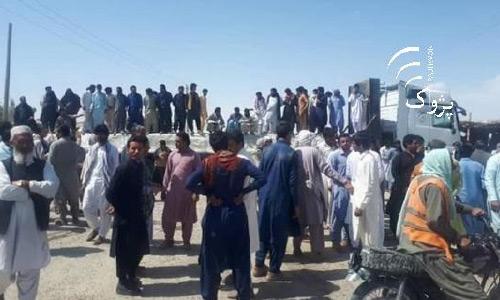 Nimroz Cement Importers Stage Protest, Block Road