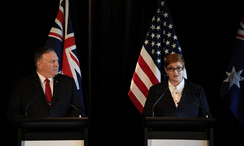 Washington Urges Australia to 'Be Partner'  in Confronting Iran in Gulf Standoff
