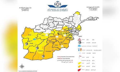 Heavy Rain and Snowfall, Flash Floods Imminent in Parts of Afghanistan: Meteorological Department
