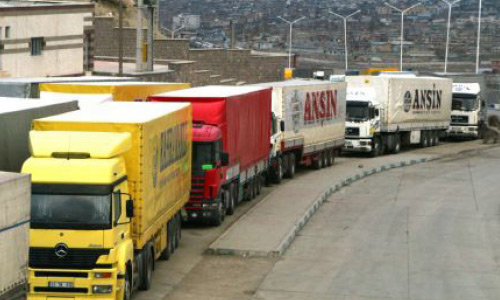 Over 400 Cargo Transportation Trips Carried  Out by Kyrgyz Trucks in Turkey