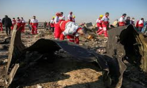 Ukrainian Airliner Crashes in  Iran, Killing 176