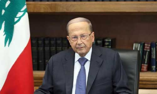 Lebanon Should Solve Problems with Israel First Before Any Peace Deal: President