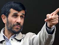Ahmadinejad Dismisses Western Oil Sanctions  as 'Ridiculous'