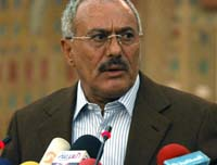 Saleh Calls for Early  Election as Yemenis Protest