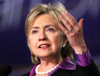 No Clean Chit to  ISI:  Hillary Clinton