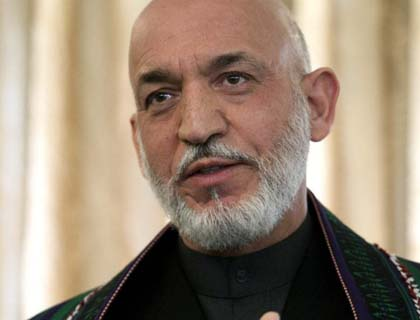 Karzai Wants Afghans to Strive for Peace