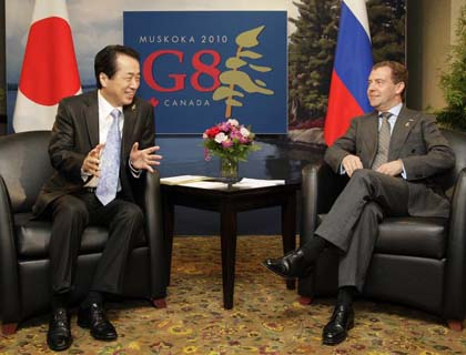 Japan PM Reassures G8 over Nuclear Clean-Up