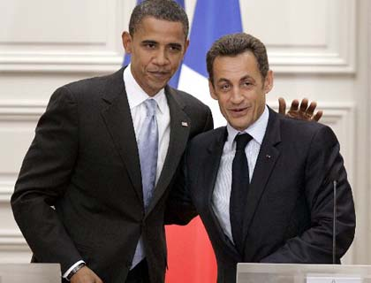 Obama, Sarkozy Highlight Consensus on N. Africa, Mideast Issue