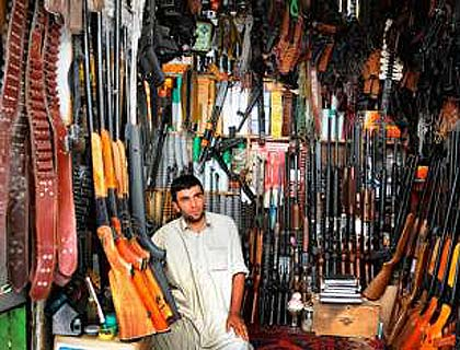Afghanistan's Kidnapping  and Arms Smuggling Industry