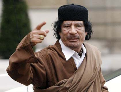 Libya denies Russia report Gaddafi seeking way out