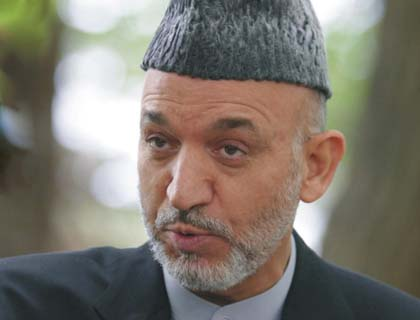 Afghans  Have to Defend Country: Karzai