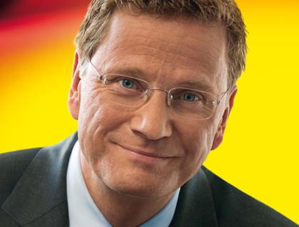German FM Guido Westerwelle: Afghan Political Process  Will Lead to Peaceful Solution