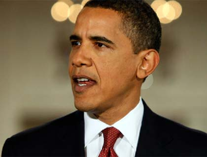 Obama for Political  Solution in Afghanistan