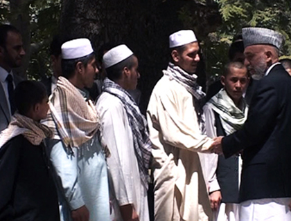 Karzai Pardons  5 Would-Be Suicide Bombers