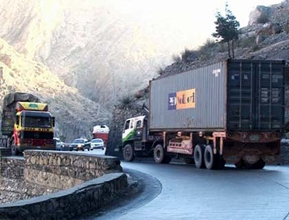 Afghan-Bound Trucks to Unload in Specified Destinations