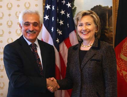 Clinton, Spanta  Confer on Regional  Situation