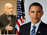 Obama, Karzai Talk Security Pact Enforcement