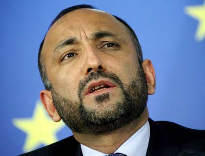 Foreign Troop Pullout to Pave Way for Civil War: Atmar