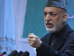 President Hamid Karzai: Pak, Afghanistan Should  Jointly Combat Terrorism